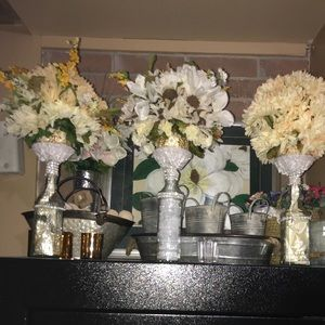 Set of three beautiful Centerpieces